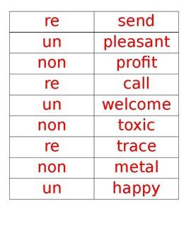 Prefix and Suffix Game