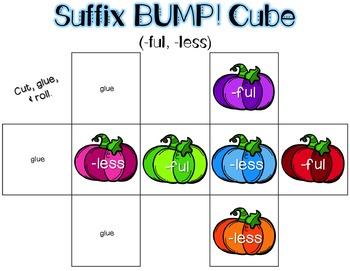 Prefix and Suffix Halloween BUMP!