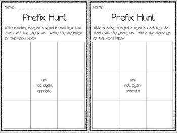 Prefix and Suffix Hunt