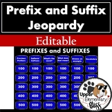 Distance Learning Prefix and Suffix Jeopardy