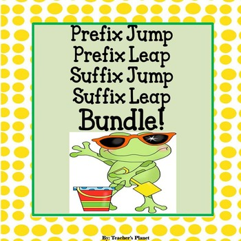 Prefix and Suffix Jump and Leap Bundle Pack!