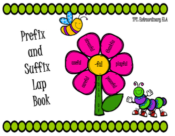 Prefix and Suffix Lap Book (Greek and Latin Roots)