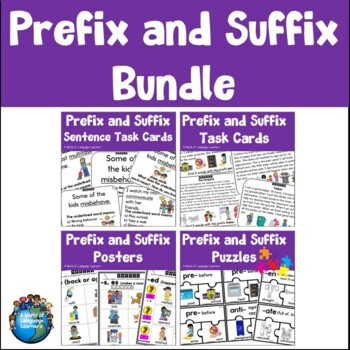 Prefix and Suffix Learning Pack