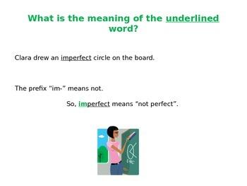 Prefix and Suffix Lesson