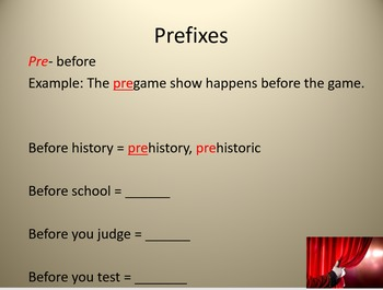Prefix and Suffix Lesson and Activities