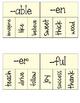 Prefix and Suffix Matching Interactive Journal