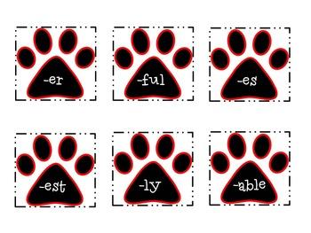 Prefix and Suffix Matching Game