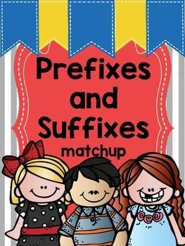 Prefix and Suffix Matchup