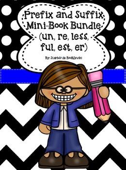 Prefix mini book teaching resources teachers pay teachers prefix and suffix mini book bundle fandeluxe Gallery