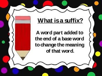 Prefix and Suffix Pack
