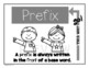 Prefix and Suffix Posters (with Interactive Notebook Option)