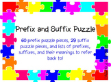 Prefix and Suffix Puzzle
