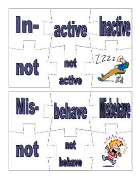 Prefix and Suffix Puzzles Level 2