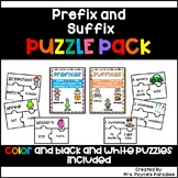 Prefix and Suffix Puzzles, Prefix and Suffix Centers, Pref
