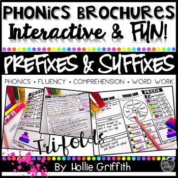 Prefix and Suffix BUNDLE - Phonics Brochures