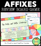 Prefix and Suffix Review Game