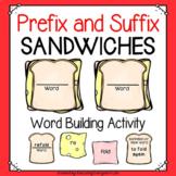 Prefix and Suffix Sandwiches