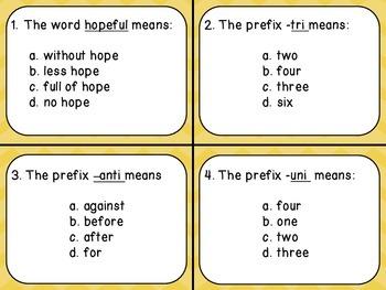 Prefix and Suffix Scoot