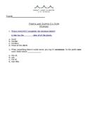 Prefix and Suffix Set of Quizzes