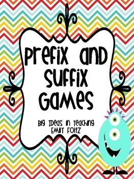 Prefix and Suffix Showdown and More Games!!!