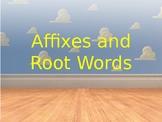 Prefix and Suffix Slinky Slides