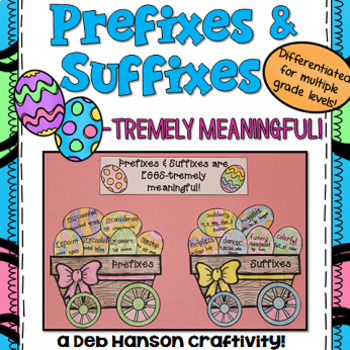 Prefix and Suffix Craftivity for Spring