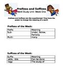Prefix and Suffix Study Week 1