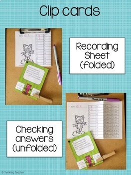 Prefix and Suffix Task and Clip Card Bundle!