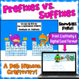 Prefix and Suffix Craftivity for Winter