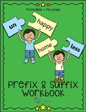 Prefix and Suffix Workbook