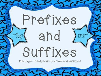 Prefix and Suffixes