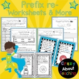 Prefix re- Worksheets & More