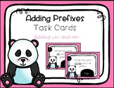Prefix un- and re- Task Cards