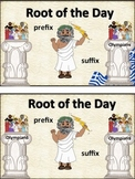 Prefix/Suffix Greek Root of the Day Book and Bundle-Common Core Aligned