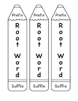 Prefix/Suffix Pencil