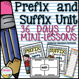 Prefix and Suffix Unit
