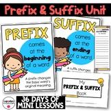 Prefix and Suffix Unit