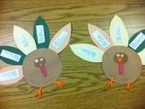 Prefix/Suffix turkeys