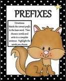 Prefixes Literacy Center