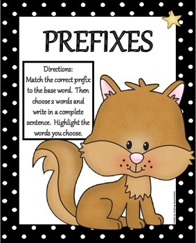 Prefixes Literacy Center