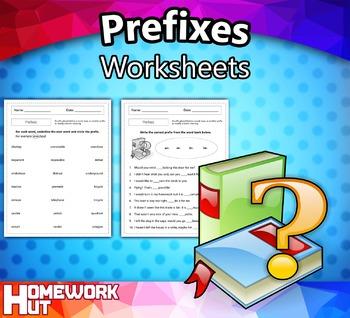 Prefixes Worksheets