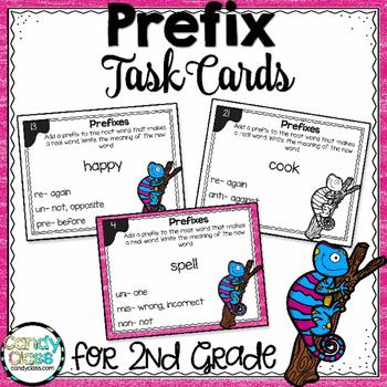 Prefix Task Cards - L.2.4.B