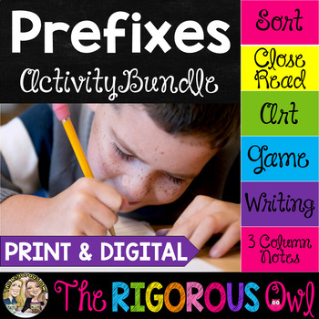 Prefixes Activities