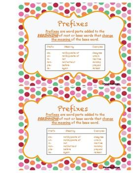 Prefixes Activities-Scavenger Hunt, Task Cards, Assessment