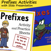 Prefixes Activities with Slide Presentation