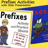 Prefixes Activities with Slide Presentation