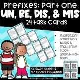 Prefixes + Base Words (un-, re-, mis-, dis-)
