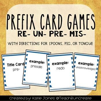 Prefixes CARD GAMES