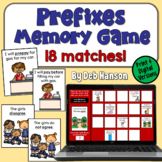 Prefixes Concentration Game