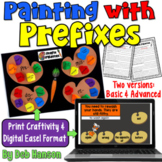 Prefixes Craftivity (included two versions for differentiation!)